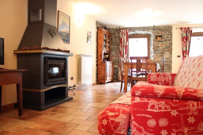 Foyer du Cousin - Affitti a Nus - l'Atelier du Temps Conciergerie